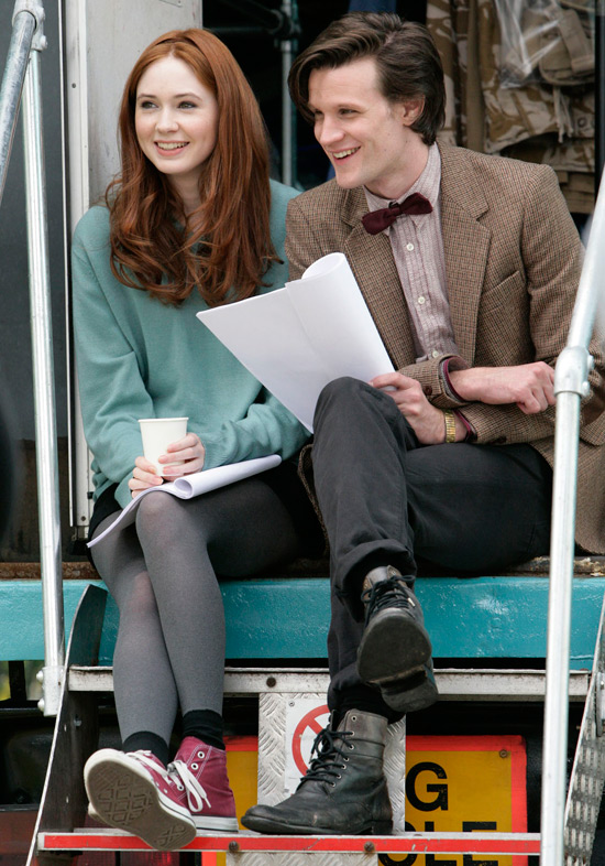 matt-smith-karen-gillan-amy-pond