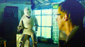 Rory Williams, meet Rory the androgynous robot.