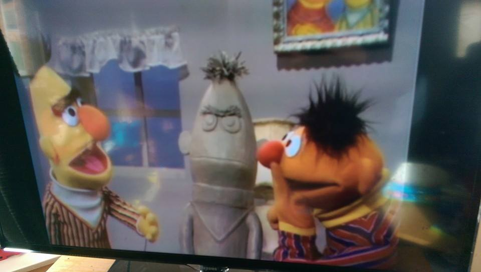 Bert-Ernie-statue