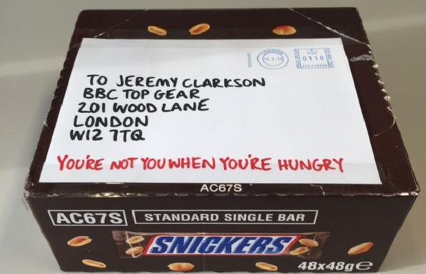 snickers-top-gear