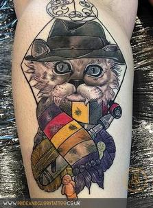 tom-baker-inspired-customer-dr-who-neo-traditional-cat-tattoo-by-chessie-at-pride--glory-tattoo-studio-leigh-on-sea-essex-1