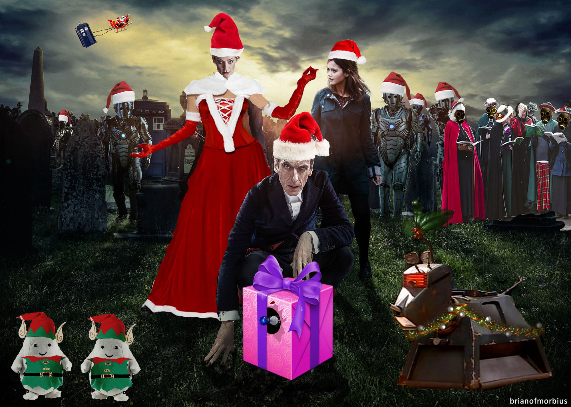 Merry Christmas from the Doctor | Brian of Morbius