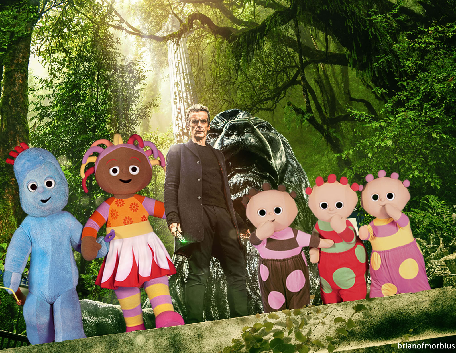 In the night garden brian of morbius for A night at the garden