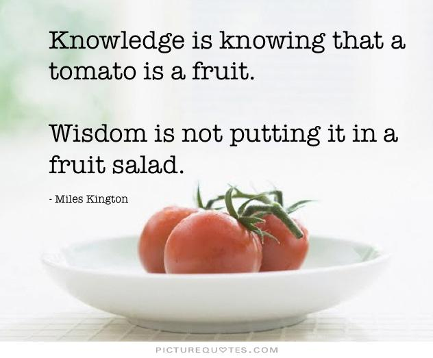 Knowledge-tomato
